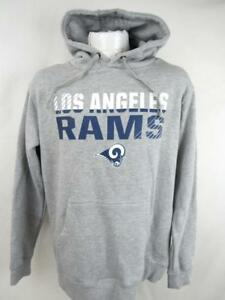 Top Los Angeles Rams Mens Medium, Large or XL Screened Pullover Hoodie  hot sale