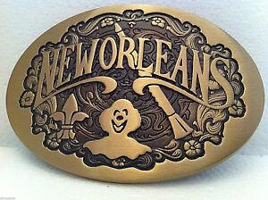 Vintage-New-Orleans-Very-Rare-Custom-Brass-Belt-Buckle