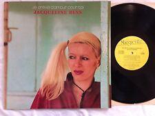 """Jacqueline Bess """"je creve d'amour pour toi""""LP Quebec Canada Import Marguerite NM"""