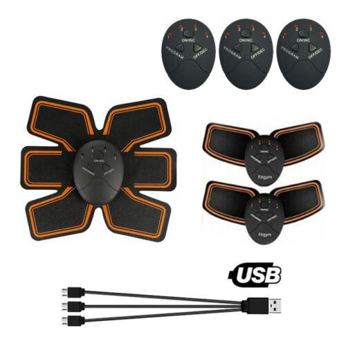 EMS Toning Belt Electronic Muscle Stimulator Abdomen Abdominal Trainer Toner USB