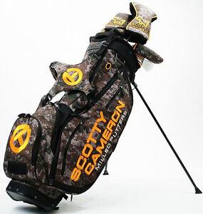 Scotty Cameron Camo Bulldog Stand Golf Bag