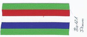 Ordensband Frankreich Med. d'honneur Agricole 37mm 0,5m (ba121) (1m9,80) - Helvesiek, Deutschland - Ordensband Frankreich Med. d'honneur Agricole 37mm 0,5m (ba121) (1m9,80) - Helvesiek, Deutschland