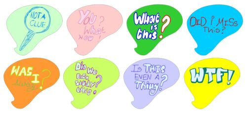 Speech bubble call-out shape stickers custom made