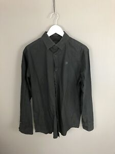 G-STAR-RAW-Shirt-Size-XL-Black-Great-Condition-Men-s
