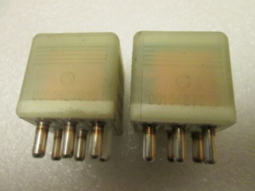 0015427819 OEM !!!!! 001 542 78 19 LOT OF 2 Relay,1986 to 2003 Mercedes