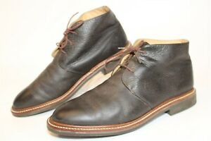 Orvis 9G4T The Gentleman's Chukka Mens 12 D Hand Made Leather Ankle Dress Boots