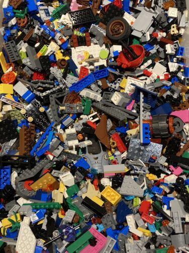 1 kg 1000 G Délavé Véritable loose LEGO pièces de tout Nombre d/'ensembles mixtes.