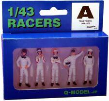 Q-MODEL QMC010 1:43 RACER A Team TOYOTA 1966-1970 (Painted figures)