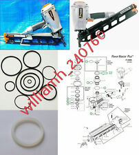 Duo-Fast Coil Nailer CF-100A Corrugated Fastener O Ring Rebuild Kit Part