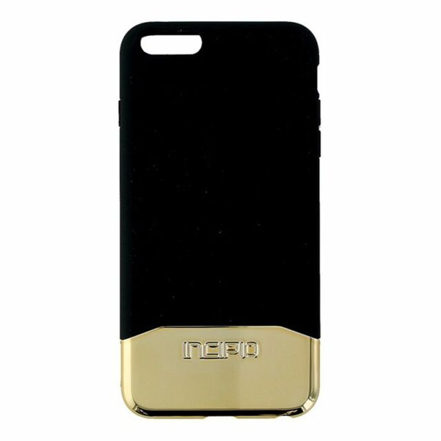 the best attitude 9112b 68969 Incipio Edge Chrome Slider Case for iPhone 6 Plus 6S Plus Black and Gold