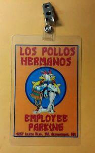 """BREAKING BAD TV Series LOS POLLOS HERMANOS 5/"""" Uniform Costume Patch"""
