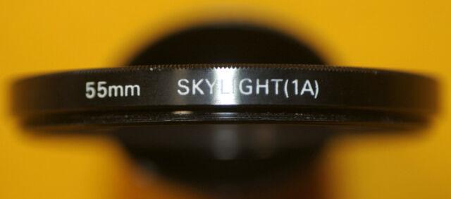 * SKILIGHT (1A ) 55mm.filter x Nikon Canon Olympus Leica Naigon/hoya Japan *