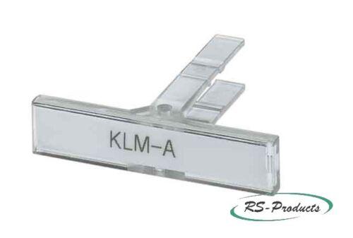 1004348 30 Phoenix Contact Klemmenleistenmarker 20 50 Stück KLM-A
