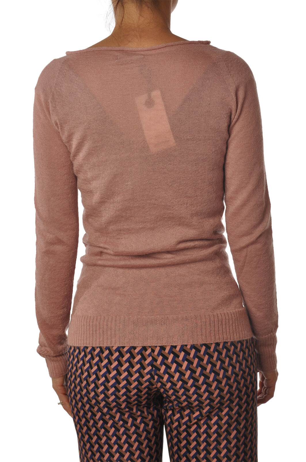 Ottod'ame Ottod'ame Ottod'ame - Knitwear-Sweaters - Woman - Pink - 5432624N180705 a1082d