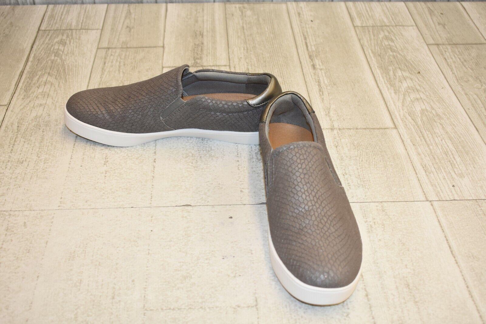 Dr. Scholl's Scout Slip On Sneaker - Women's Size 9M, Grey Snake