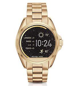 e533bd360de Michael Kors Access MKT5001 Bradshaw Gold-tone Touchscreen Smartwatch