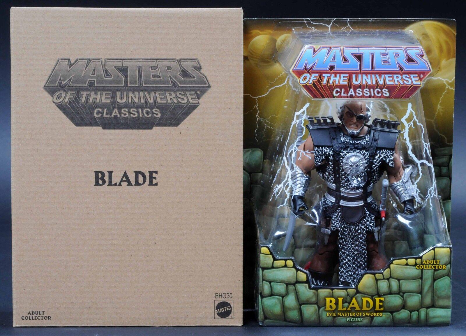 2014 Mattel Amos del Universo Hoja MotuC Masters Of The Universe Classics menta en tarjeta