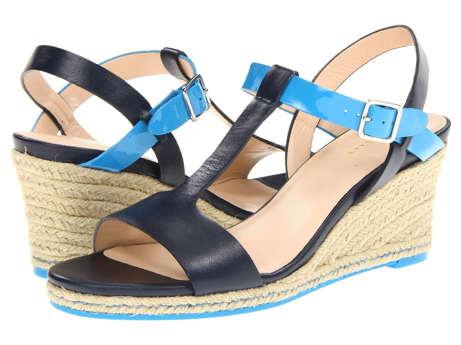 180 Cole Haan Elizabeth Blazer Wedge Sandal shoes Womens 11 NEW IN BOX