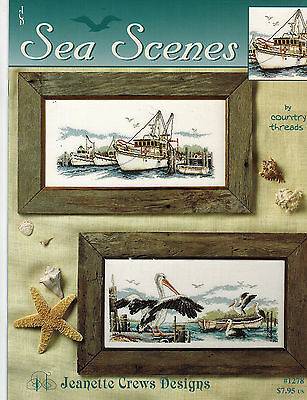 Cross Stitch: Sea Scenes - Country Threads- Retail $7.95 *