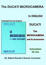<NEW> Ducati Microcamera (Sogno & Simplex) Instruction Manual-ENGLISH-Hard Copy