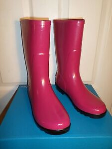 youth rain boots size 6