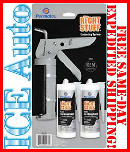 3-DAY SALE!! Permatex PMX-99070 Right Stuff Gasket Maker includes Caulking Gun