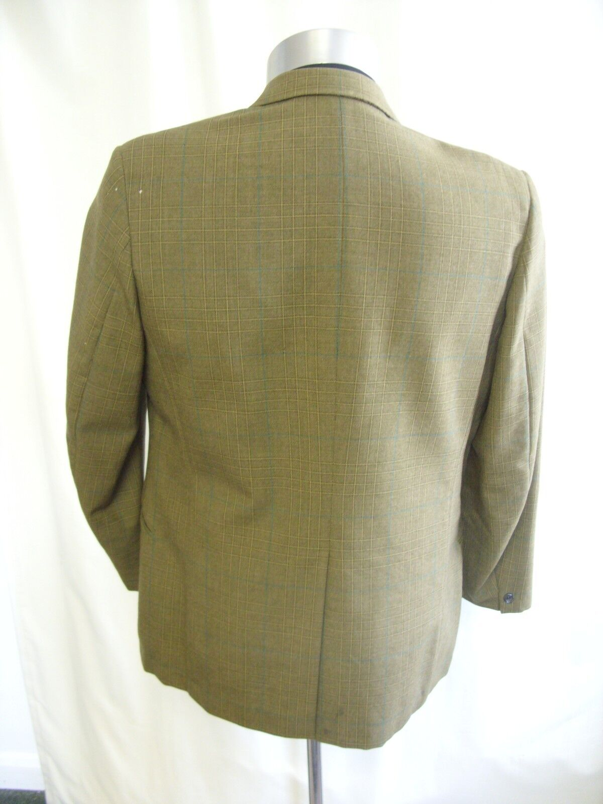 Veste homme Maitland Vert Check Tailor Made Blazer, taille R 40