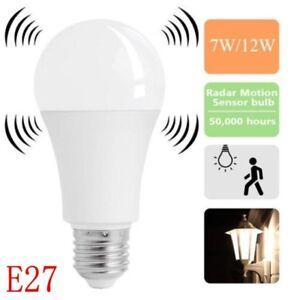 E27 Emergency Magic LED Light Bulb Rechargeable Intelligent Lamp  Light Bulb