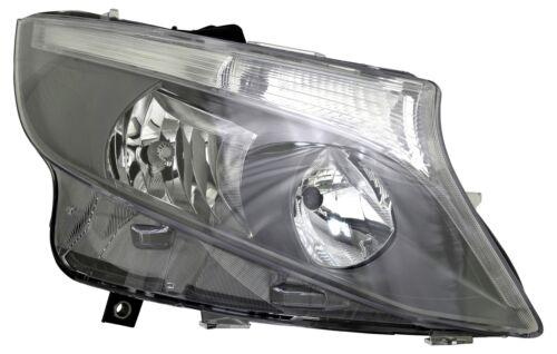 Scheinwerfer rechts für Mercedes W447 Vito V-Klasse 2014 H7 H15 LWR Motor Grau N