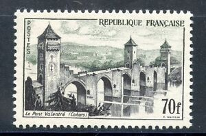 Le Pont Valentre Cahors Cote 13 € Neuf Charniere Enthusiastic Timbre France Neuf N° 1119