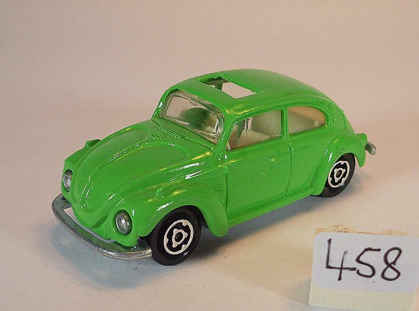 Majorette 1 60 no 202 VW Volkswagen 1302 Beetle Beetle Grass Green