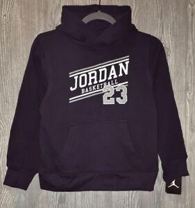 9595dff07fbb NIKE Jordan 23 Navy Blue Grey Fleece Pullover Hoodie Sweatshirt NEW ...