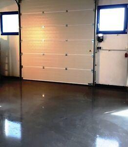 10k kieselgrau 7032 2k epoxidharz bodenbeschichtung garage. Black Bedroom Furniture Sets. Home Design Ideas