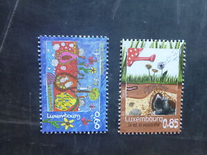 2014-LUXEMBOURG-TREASURES-OF-THE-SOIL-SET-2-MINT-STAMPS-MNH
