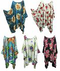 50+ Designs Lagenlook Kaftan Hippie Dress cover up Size 20 22 24 26 28 30 32 34