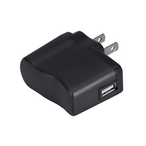 AGPTEK-Power-Adapter-and-USB-Charger-5V-500mA-for-iPod-MP3-MP4-Player-etc-Black