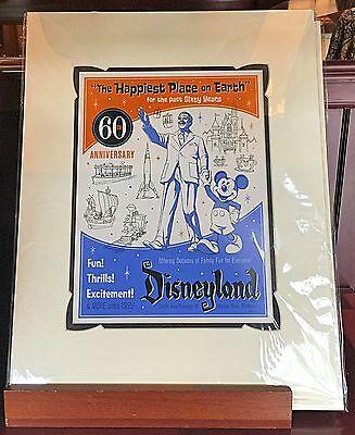 Disneyland Diamond Celebration 60th Anniversary 1965 Decades Print Jeff Granito