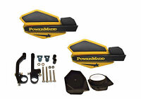 Powermadd Star Series Handguard Kit Ski Doo Yellow Black Snow Mobile Snowmobile