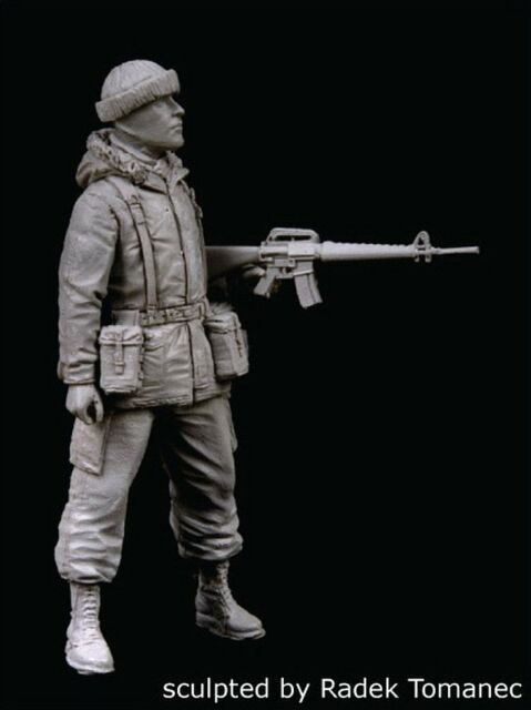 Black Dog 1/35 British Royal Marine in Falklands War 1982 No.3 F35085
