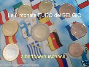 2001-BELGIO-8-monete-3-88-EURO-FDC-belgique-belgien-belgica-belgium