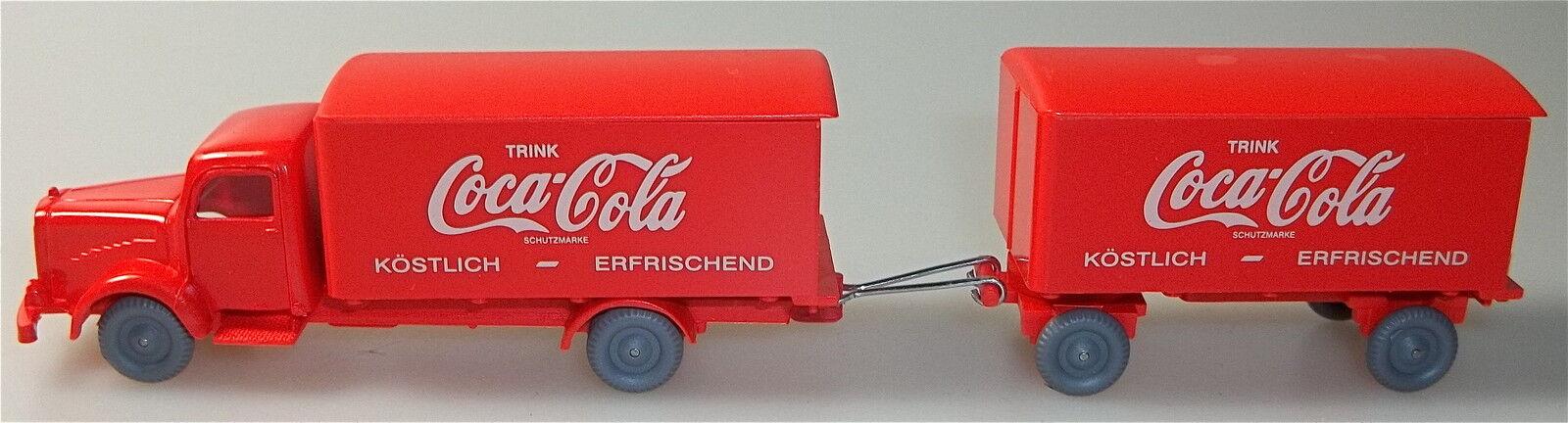 Coca Cola Red Red Mercedes 5000 Hängerzug IMU h0 1 87 å