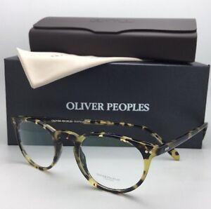 bc45b0550c4 New OLIVER PEOPLES Eyeglasses RILEY R OV 5004 1571 45-20 DTBK Havana ...
