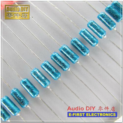 10//100pcs SPRAGUE 152D 6.8uF//15V 10/% axial gold seal electrolytic capacitor 16V