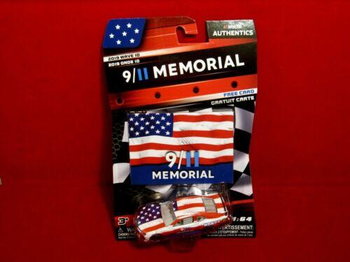 2019 NASCAR Authentics Wave 10 9//11 Memorial Chevy Camaro w//card FREE SHIP