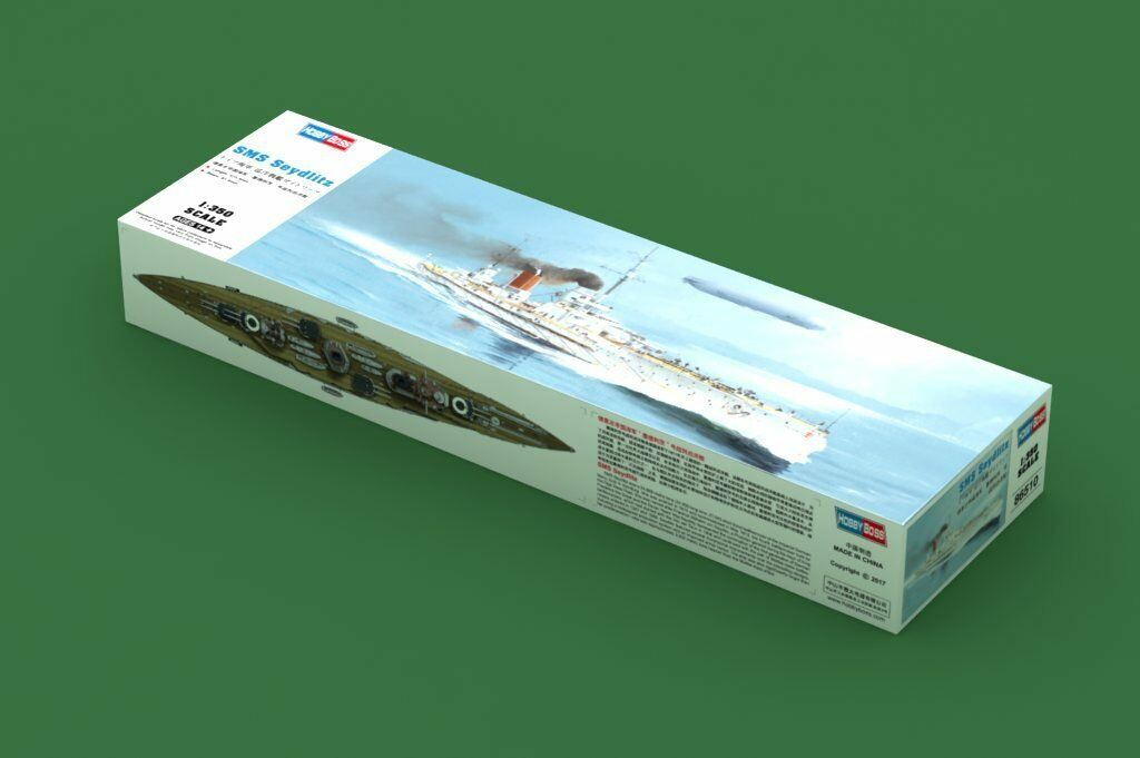 prezzi all'ingrosso Hobby Boss SMS Seydlitz Cruiser Battelship Guerraship 86510 1 1 1 350 Plastic modello DIY  sconto