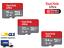 miniatura 1 - MICRO SD SANDISK ULTRA 16 32 64 GB CLASS 10 SCHEDA DI MEMORIA 98MB/S MEMORY CARD