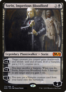 x4 Sorin Imperious Bloodlord M20 MTG 115//280 M20 M//NM 4x