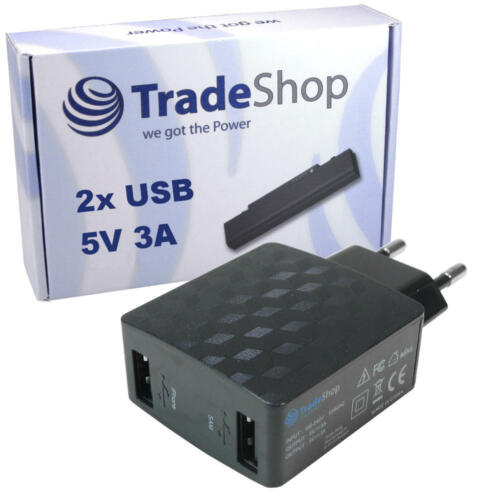 2 veces múltiple conector 3a USB Cargador fuente alimentación para huawei mate 8 yerba mate s