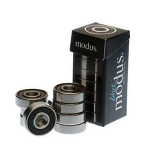 Modus-Skateboard-Bearings-Black-8-Pack-New-Blacks-Speed