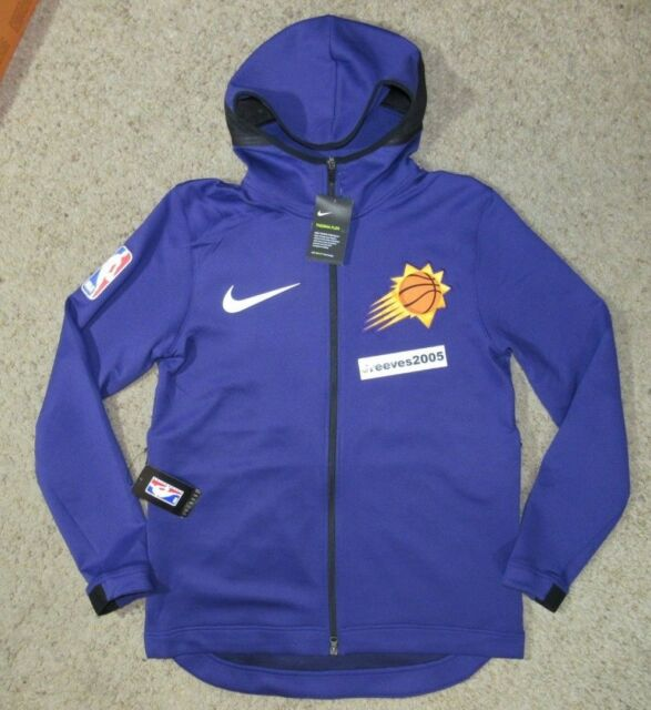 10e491ab2f61 NWT Nike PHOENIX SUNS Therma Flex Showtime Full Zip Jacket Sz Large (899868  566)